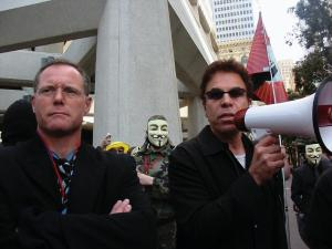 Jason Beghe and Lawrence Wollersheim