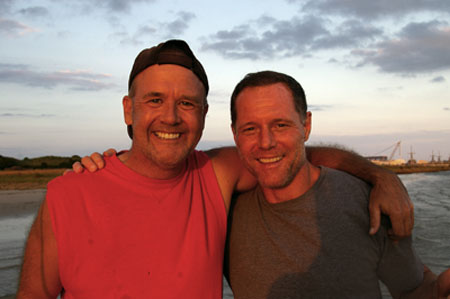 Marty Rathbun and Jason Beghe, Together Again